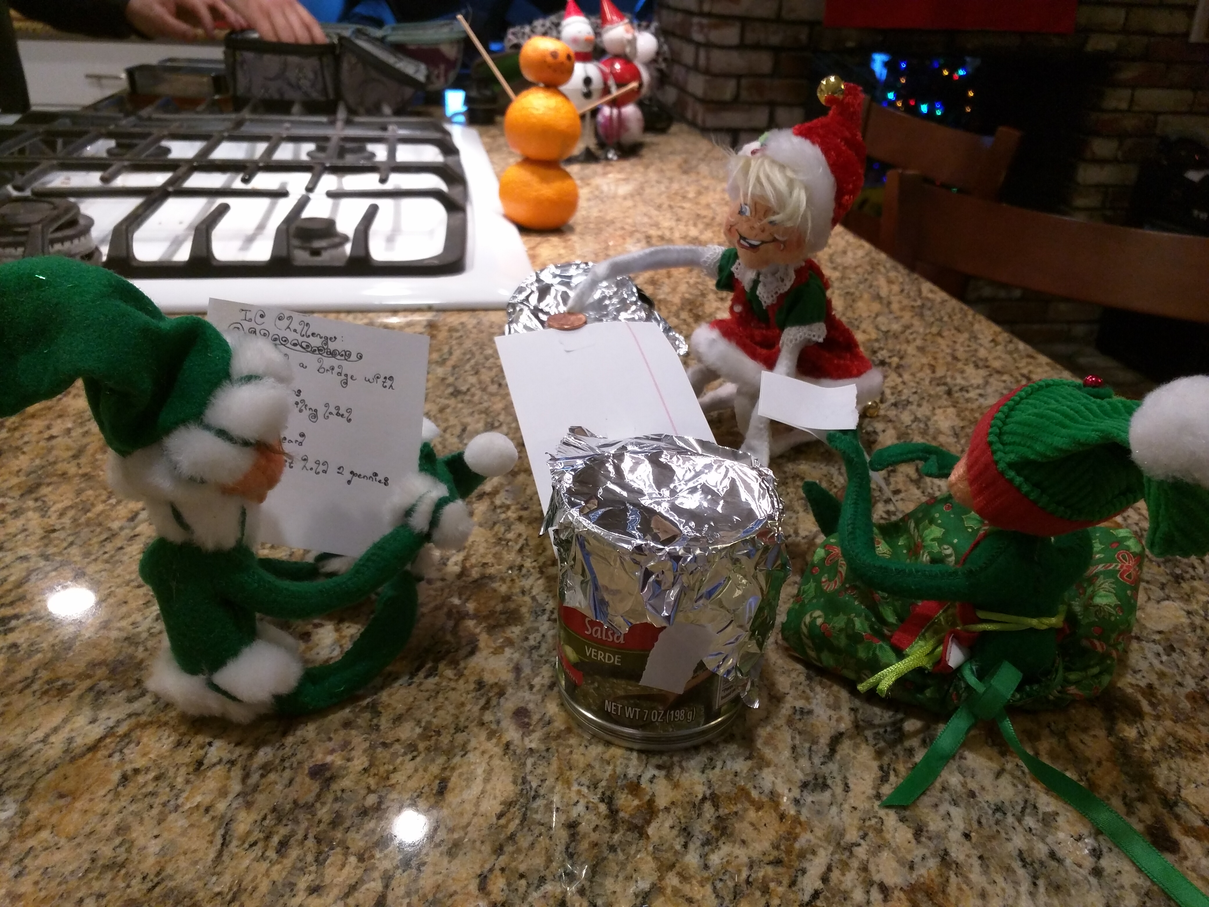 Elves getting into the DI Spirit and cranking some ICs
