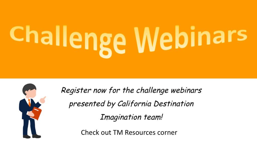 Challenge Webinars