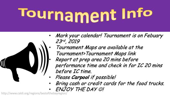Tournament Info