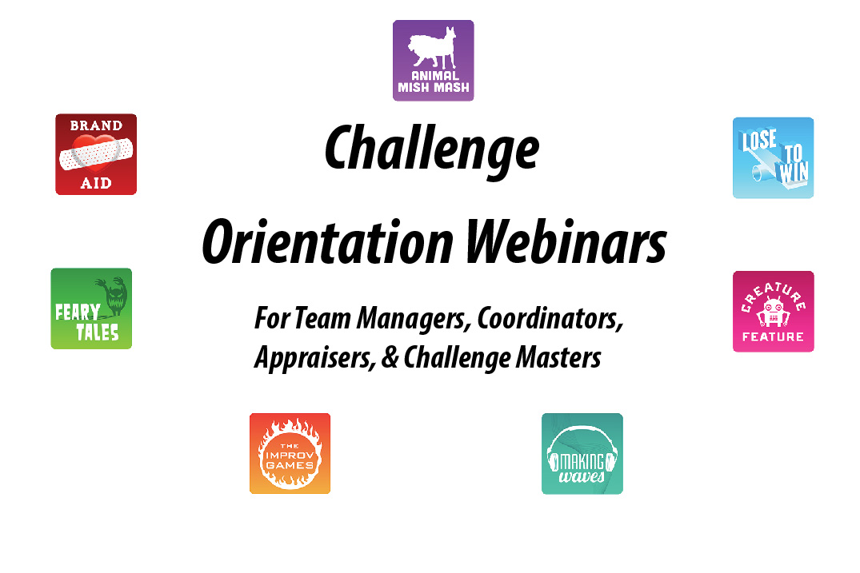 Challenge Orientation Webinars