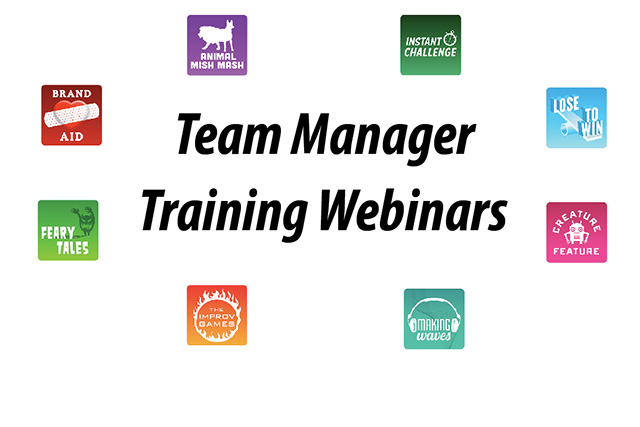 Team Manager Training Webinars