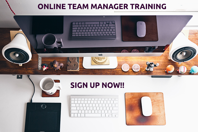 Team Manager Online Training Signup